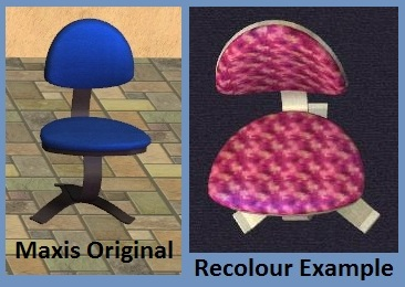 Stark Inspiration Chair Recolours Example