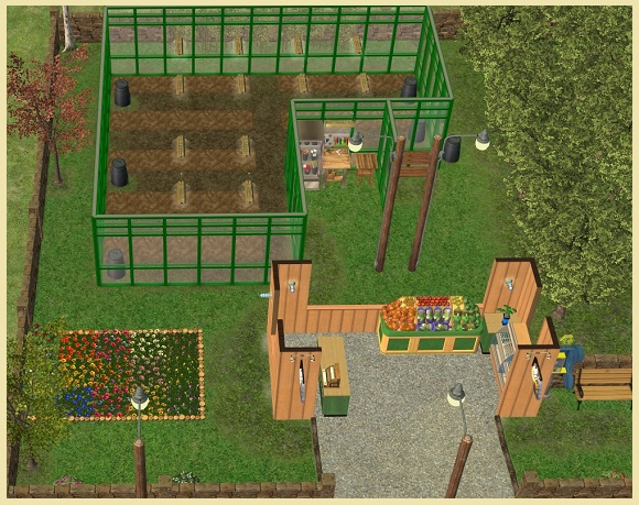 Fruit & Veg Stand 2