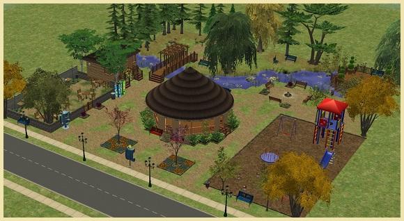 Calipip Sims Park 1