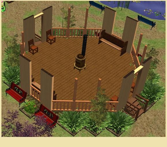 Calipip Sims Park 3