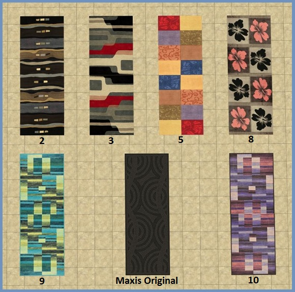 Labyrinth Rug Recolours 01-10
